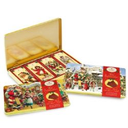 Christmas Tin of Milk Chocolate Bars | Buy Online | UK